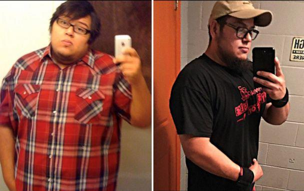 PHOTO: Abe Pena, of Texas, has lost more than 100 pounds. (Courtesy Abe Pena)