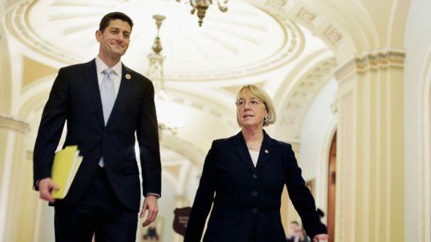 gty paul ryan pat murray kb 140110 16x9 608 For Paul Ryan, Even a Gift From BFF Creates Complications