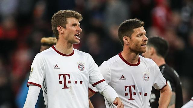 A host of chances went begging as Bayern Munich played out a goalless stalemate against Bayer Leverkusen, frustrating Thomas Muller.