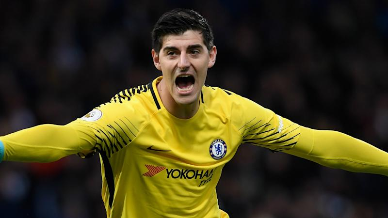 sale retailer 74e56 9cea1 Chelsea confirm €35m Courtois sale to Real Madrid as Kovacic ...