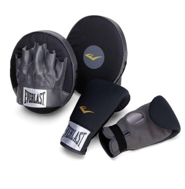 """<p><strong>Everlast</strong></p><p>everlast.com</p><p><strong>$44.99</strong></p><p><a href=""""https://go.redirectingat.com?id=74968X1596630&url=https%3A%2F%2Fwww.everlast.com%2Ffight%2Fboxing%2Fcoaching-equipment%2Fboxing-fitness-kit&sref=https%3A%2F%2Fwww.esquire.com%2Flifestyle%2Fg23013003%2Fbest-gifts-for-husband-ideas%2F"""" rel=""""nofollow noopener"""" target=""""_blank"""" data-ylk=""""slk:Buy"""" class=""""link rapid-noclick-resp"""">Buy</a></p><p>Offer to hold the punch mitts while he takes a few swipes. Soon enough, he'll be eyeing a boxing gym membership and debating installing a bag in the living room. (Urge him to go for the membership.)</p>"""