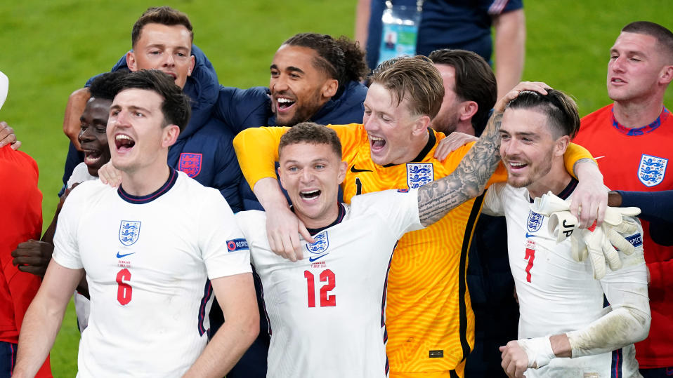 England's victory over Denmark in the Euro 2020 semi-final was one of the most watched TV events of recent years. (Mike Egerton/PA Images via Getty Images)