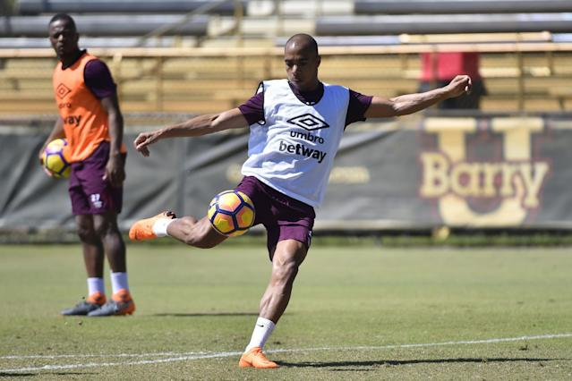 West Ham loanee Joao Mario hints he won't return to Inter Milan next season
