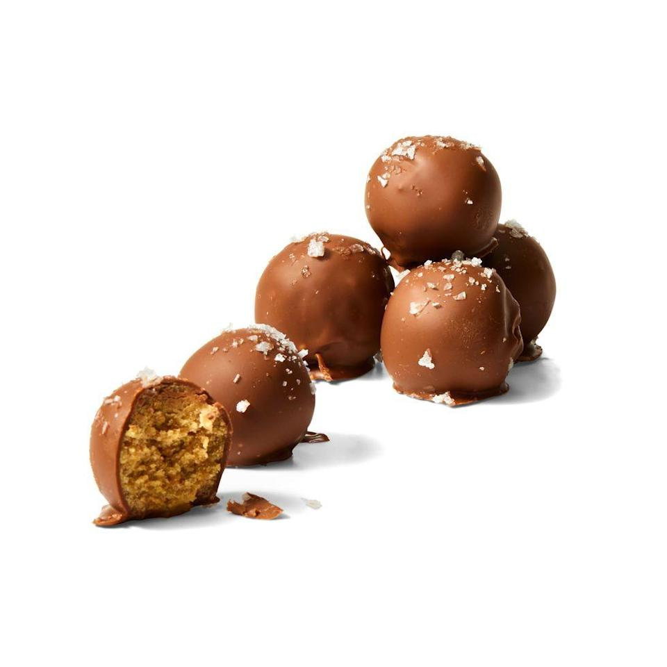 """<p>Mix up a big batch of margs to enjoy on the rocks and use in tasty white chocolate truffles. It gives 'em a citrusy punch!</p><p><em><a href=""""https://www.goodhousekeeping.com/food-recipes/a35195356/margarita-truffles-recipe/"""" rel=""""nofollow noopener"""" target=""""_blank"""" data-ylk=""""slk:Get the recipe for Margarita Truffles »"""" class=""""link rapid-noclick-resp"""">Get the recipe for Margarita Truffles »</a></em></p>"""