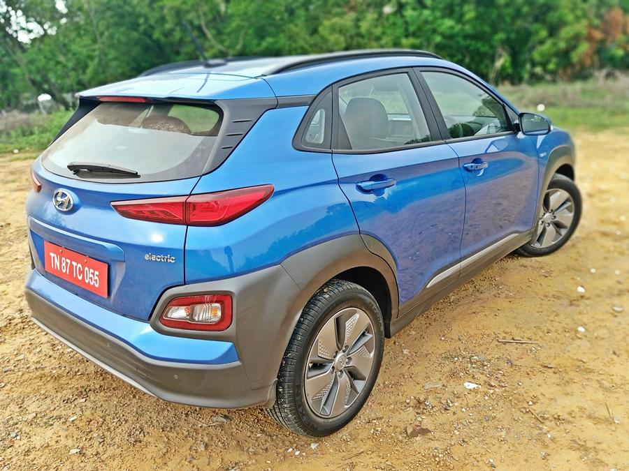 Hyundai has passed on the GST reduction for EVs to customers and the Kona starts at Rs 23.7 lakh. The cost of servicing is expected to be less than Rs 8,000 and the battery has an eight-year warranty.
