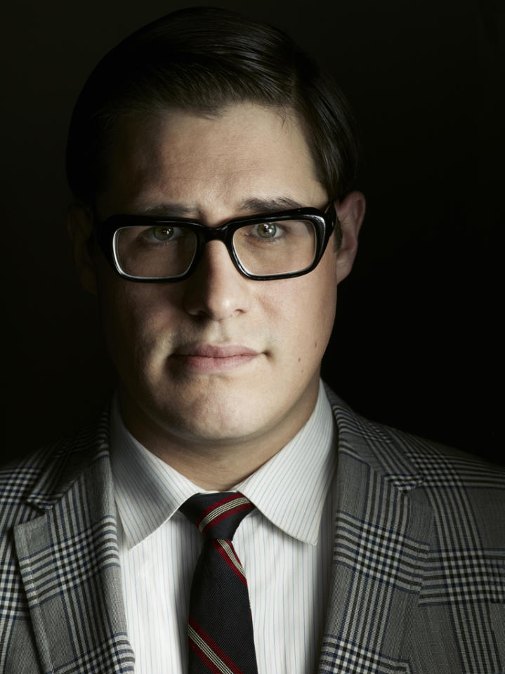 "Rich Sommer stars as Harry Crane in ""<a target=""_blank"" href=""http://tv.yahoo.com/mad-men/show/39828"">Mad Men</a>."""