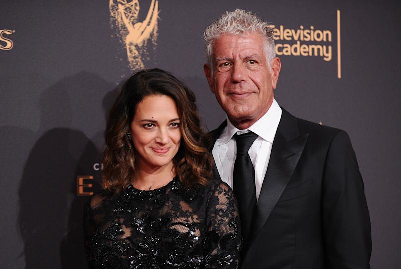 The actress and celeb chef attend the2017 Creative Arts Emmy Awards in September.