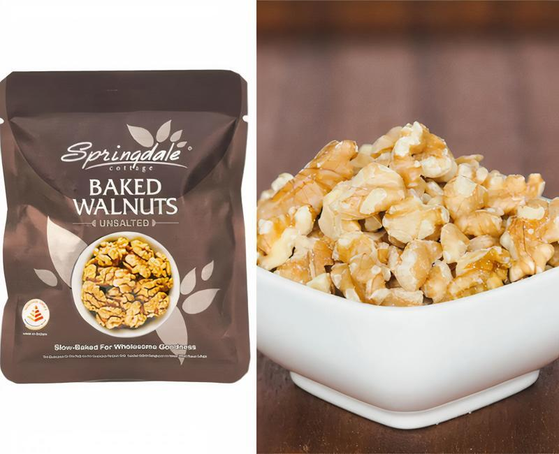 Collage Of Walnuts