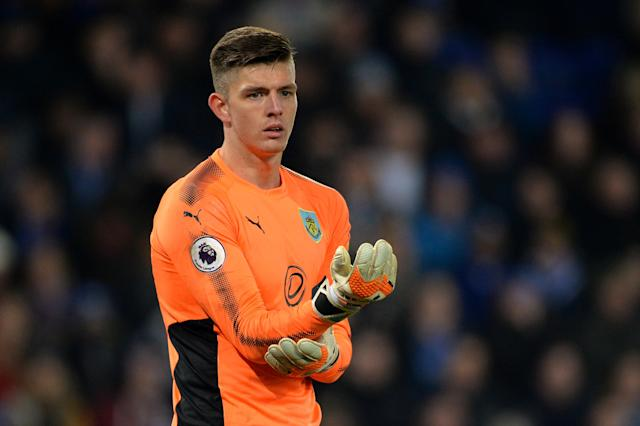 Nick Pope, relegated to League One in 2016, has kept a string of clean sheets to help Burnley move into the top four.