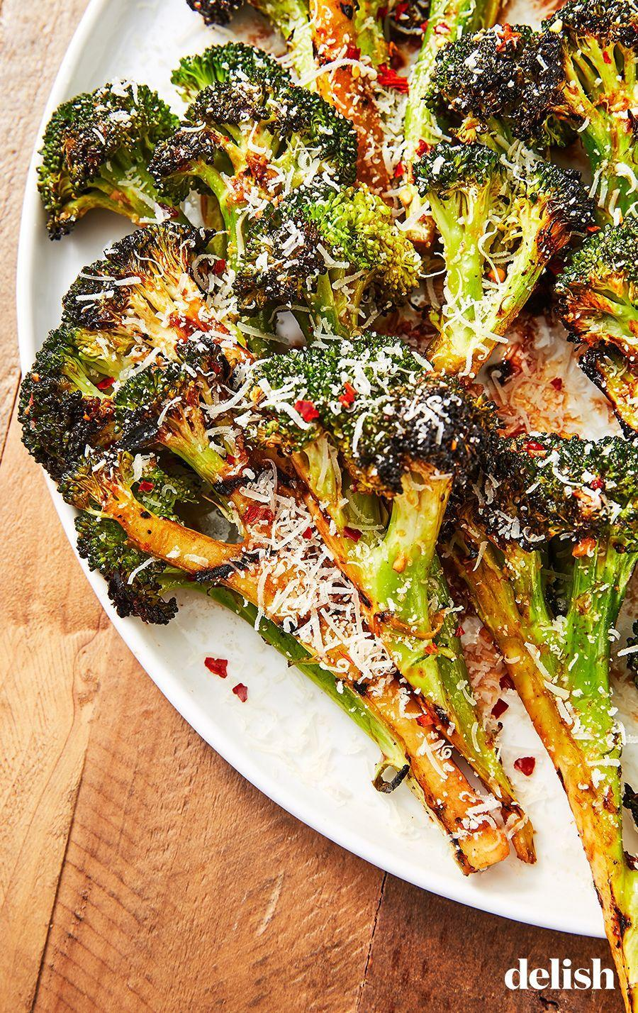 "<p>This will make ANYONE want to eat their vegetables.</p><p>Get the recipe from <a href=""https://www.delish.com/cooking/recipe-ideas/a27185834/grilled-broccoli-recipe/"" rel=""nofollow noopener"" target=""_blank"" data-ylk=""slk:Delish"" class=""link rapid-noclick-resp"">Delish</a>.</p>"