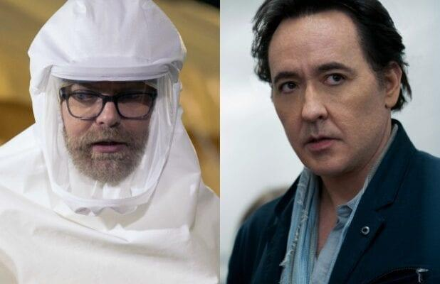 'Utopia': Rainn Wilson, John Cusack on Stearns and Christie's Plans for This Crowded World