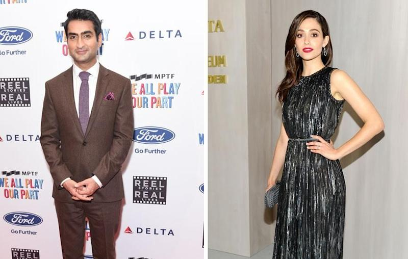 Movie stars Kumail Nanjiani and Emmy Rossum also shared messages. Source: Getty