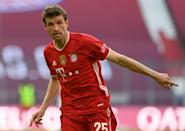 Thomas Mueller's Bayern Munich stumbled in the Bundesliga ahead of their Champions League showdown with PSG