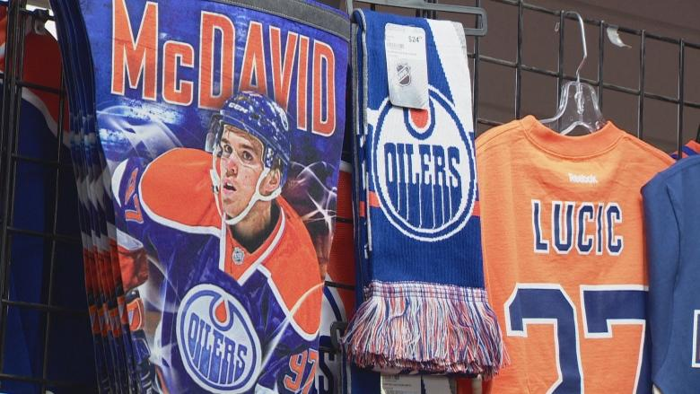 Oilers 'Orange Crush' has Edmonton retailers seeing green