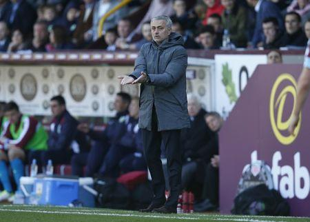 Britain Football Soccer - Burnley v Manchester United - Premier League - Turf Moor - 23/4/17 Manchester United manager Jose Mourinho Reuters / Andrew Yates Livepic