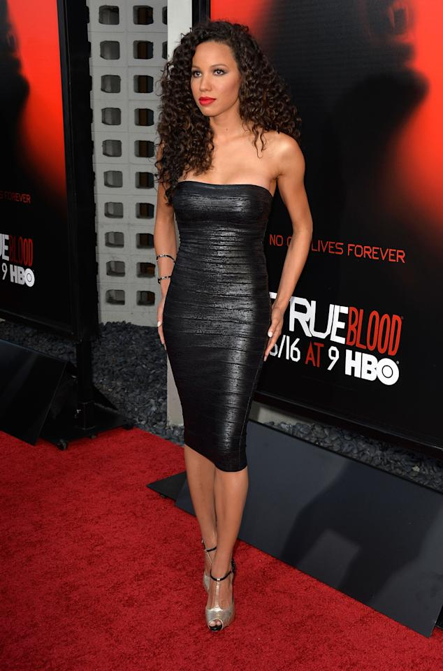 HOLLYWOOD, CA - JUNE 11: Actress Jurnee Smollett-Bell attends the premiere of HBO's 'True Blood' Season 6 at ArcLight Cinemas Cinerama Dome on June 11, 2013 in Hollywood, California. (Photo by Frazer Harrison/Getty Images)
