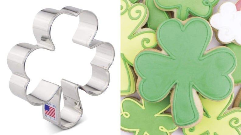 Give baked goods some extra St. Paddy's oomph with this cookie cutter.