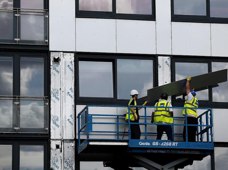 Buildings have been fitted with flammable cladding which needs replacing ( )