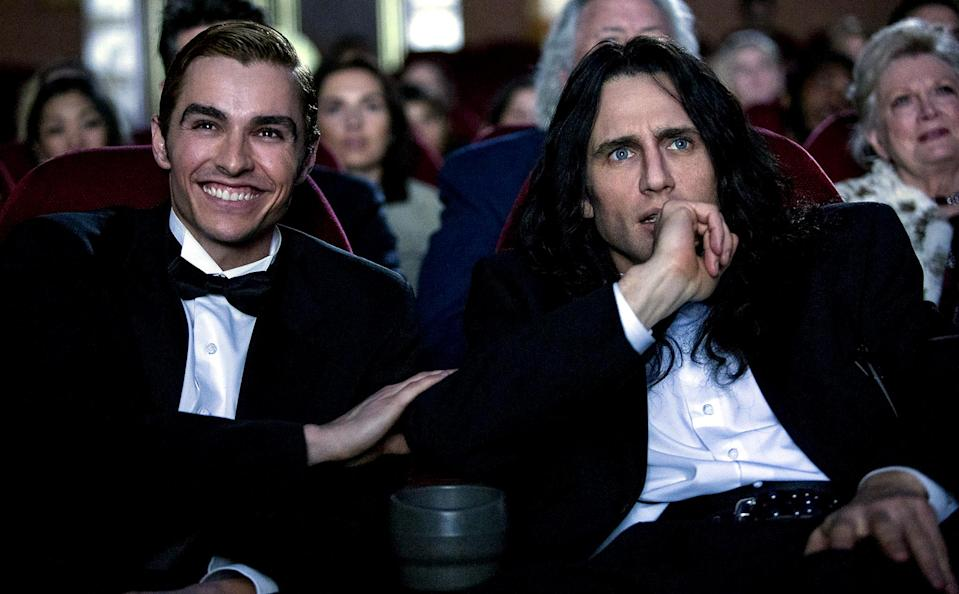 """<p>Oh hai, Mark. You don't have to see <em>The Room</em>, Tommy Wiseau's epically awful midnight screening staple, to enjoy James Franco's giddy making-of comedy, but it will definitely enhance the experience. Either way, the surprisingly poignant <em>Disaster Artist, </em>led by a killer Franco performance, makes for one of the best """"Welcome to Hollywood"""" stories we've seen in ages. Unlike <em>The Room</em>, this is one of those movies you hope never ends. <em>— K.P. </em>(Photo: Everett Collection) </p>"""