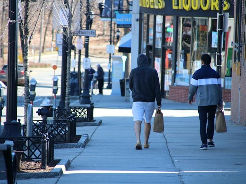 Brookline's rate of cases is 579.33 per 100,000 people.