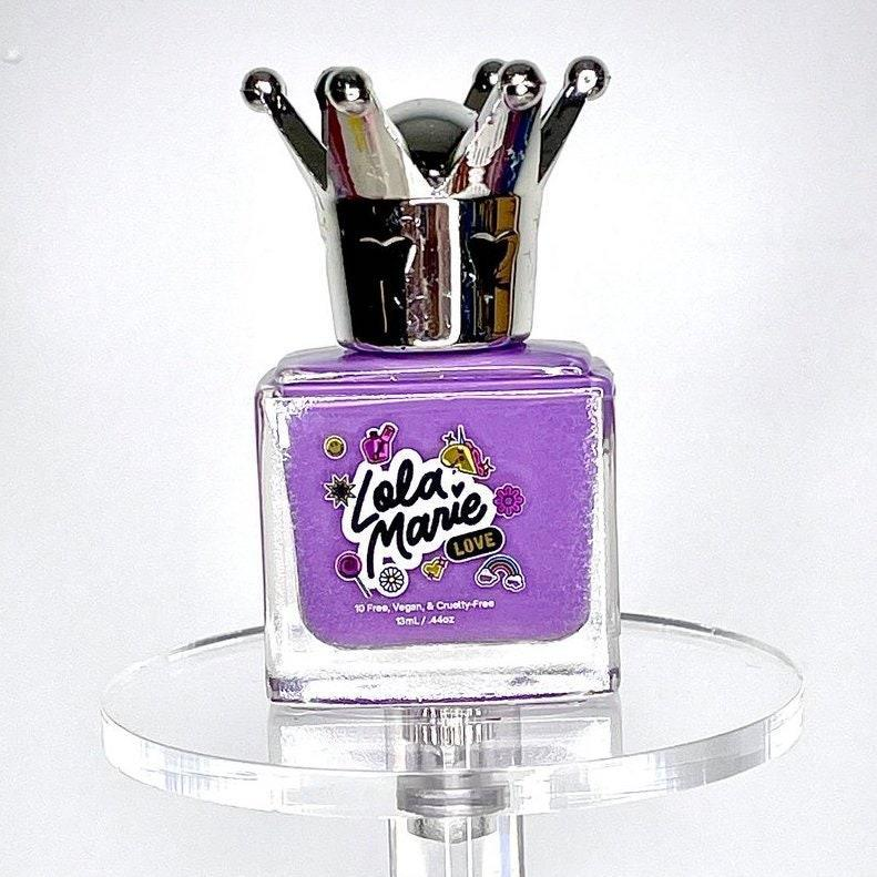 Lavender is lovely, but amethyst is just more awesome for summertime manicures. Sorry, we don't make the rules. Bold but not in-your-face, Lola Marie's Glamour Girl is a stunning take on the pretty shade of purple. The formula is creamy and fast-drying, and in addition to making your hands look great, it will make you feel great knowing that the proceeds went to helping a child with spina bifida.