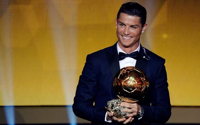 What is it? It's the 2017 Ballon d'Or, France Football's annual award for world footballer of the year - the 62nd When is it? The publication will be unveiling this year's winner on Thursday December 7. What time will it happen? The winner will be announced at 18:45 GMT. What TV channel is it on? Sadly, it won't be in the UK. But you can follow all the build-up and reaction right here with Telegraph Sport. What happened last year? Cristiano Ronaldo crowned a memorable year by being named the world's best player for a fourth time when he won the 2016 Ballon d'Or on Monday night. The 31-year-old Portugal and Real Madrid foward topped the poll of 173 journalists worldwide. Ronaldo played a crucial role as Real beat city rivals Atletico Madrid in May to become European champions for a record-extending 11th time. The pair have won the last nine Ballon d'Or awards Credit: AFP/Getty Images Then two months later, Portugal triumphed at Euro 2016 in France to claim a major trophy for the first time - despite losing their talisman to injury early on in the final. Ronaldo, who has so far scored 48 goals in 52 games for club and country during 2016, was not able to accept the award in person with the forward currently away in Japan as Real Madrid prepare for the FIFA Club World Cup. Who is on the shortlist? The 30-strong list is below, including England's Harry Kane: Pierre-Emerick Aubameyang (Borussia Dortmund) Karim Benzema (Real Madrid) Leonardo Bonucci (Milan) Gianluigi Buffon (Juventus) Edinson Cavani (PSG) Philippe Coutinho (Liverpool) Kevin de Bruyne (Man City) David de Gea (Man Utd) Paulo Dybala (Juventus) Edin Dzeko (Roma) Radamel Falcao (Monaco) Antoine Griezmann (Atlético Madrid) Eden Hazard (Chelsea) Mats Hummels (Bayern Munich) Isco (Real Madrid) Harry Kane (Tottenham) N'Golo Kanté (Chelsea) Toni Kroos (Real Madrid) Robert Lewandowski (Bayern Munich) Sadio Mané (Liverpool) Marcelo (Real Madrid) Kylian Mbappé (PSG) Dries Mertens (Napoli) Lionel Messi (Barcelona) Luka