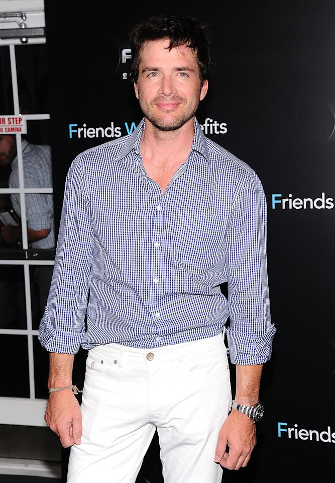 """<a href=""""http://movies.yahoo.com/movie/contributor/1800019052"""">Matthew Settle</a> at the New York City premiere of <a href=""""http://movies.yahoo.com/movie/1810167524/info"""">Friends With Benefits</a> on July 18, 2011."""