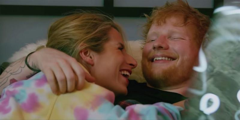 Ed Sheeran's wife stars in adorable new music video with him