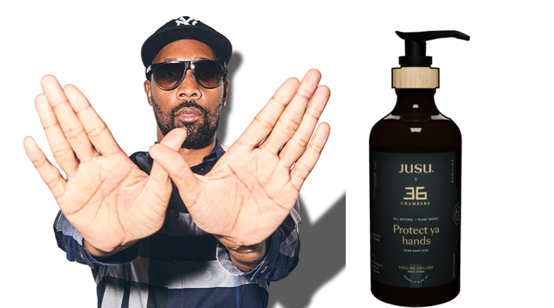 "Wu-Tang Clan Selling ""Protect Ya Hands"" Sanitizer"
