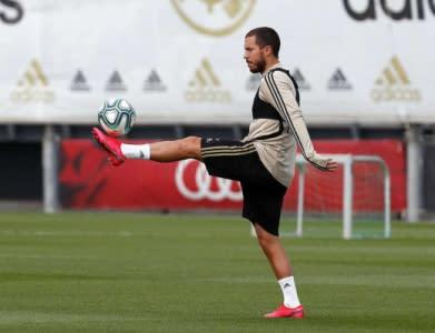 Hazard - Treino - Real Madrid