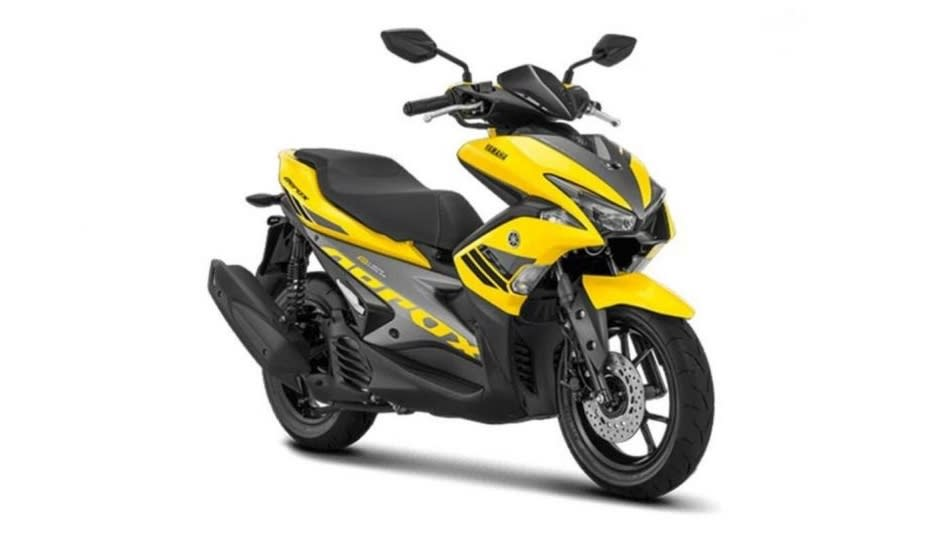 The Yamaha Aerox 155 will be one of the quickest scooters on sale in India. Image: Yamaha