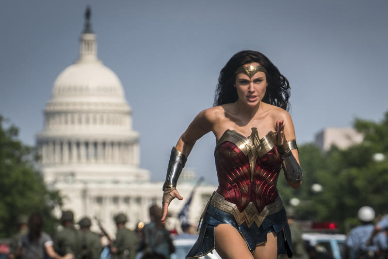 'Wonder Woman 1984' starring Gal Gadot is racing away from its original June 5 release date due to coronavirus concerns (Photo: Clay Enos/Warner Bros. Entertainment Inc.)