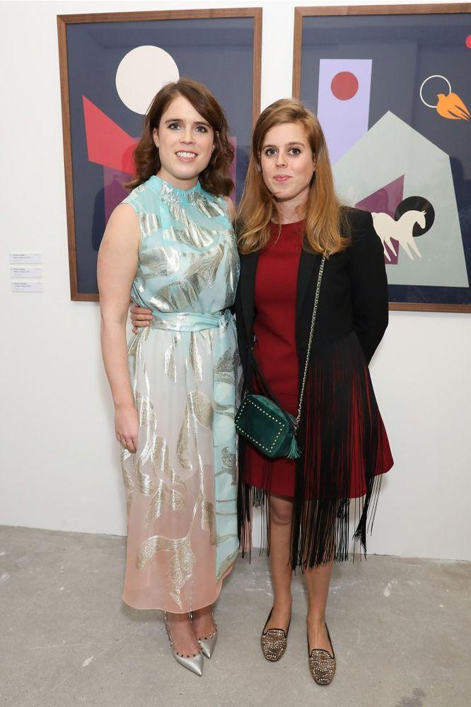 Princess Eugenie and Princess Beatrice | Dave Benett/Getty