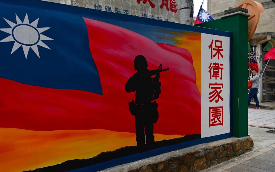 The US plans to sell Taiwan a $7bn arms package to defend itself against China - Sam Yeh/AFP