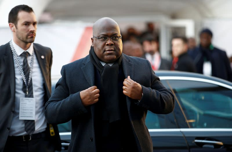 Congo military intelligence chief dies of heart attack, wife says