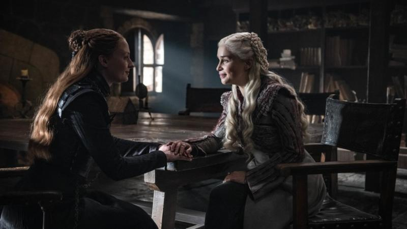 Sansa and Dany try to talk things through