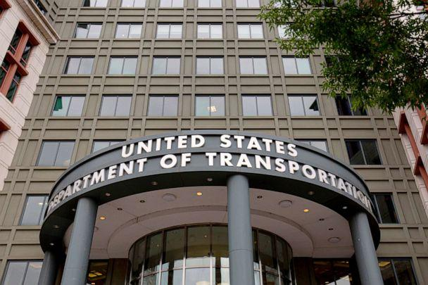 PHOTO: The US Department of Transportation building in Washington, DC. (Alastair Pike/AFP/Getty Images, FILE)