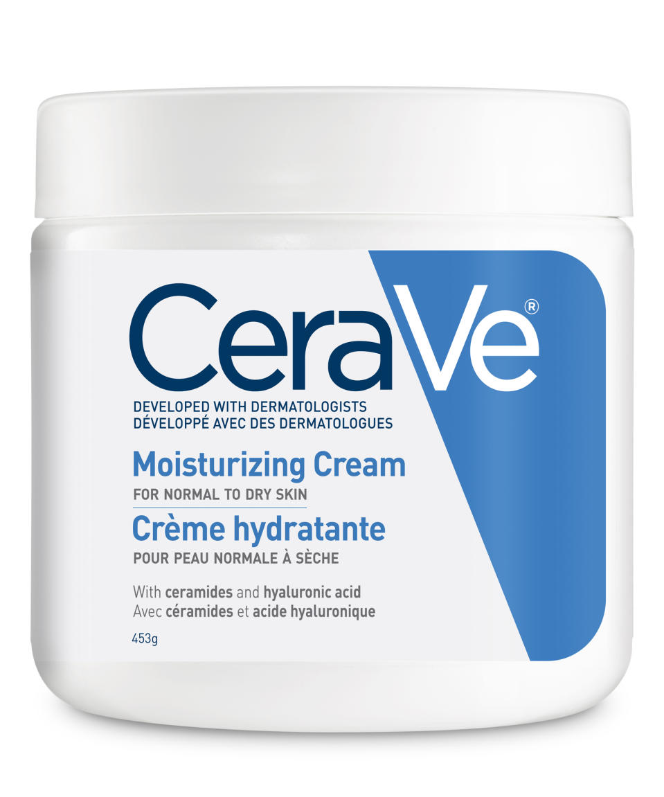 CeraVe Moisturizing Cream for Normal to Dry Skin. Image via Well.ca