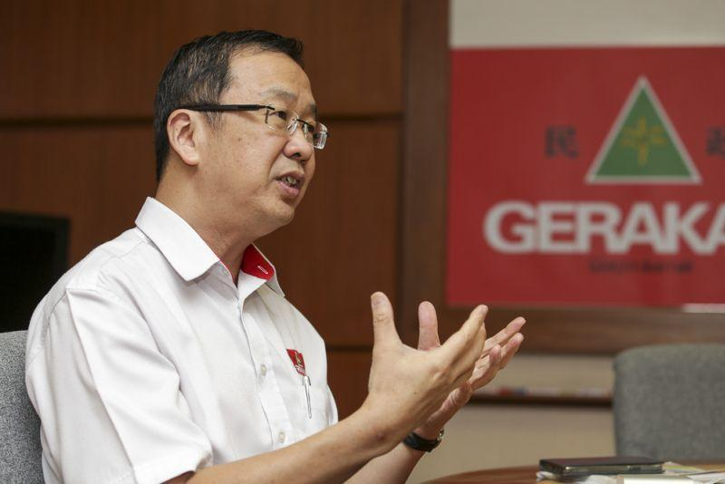 Datuk Dominic Lau said that the decision to join PN had been carefully discussed at every level in Gerakan. ― File picture by Choo Choy May