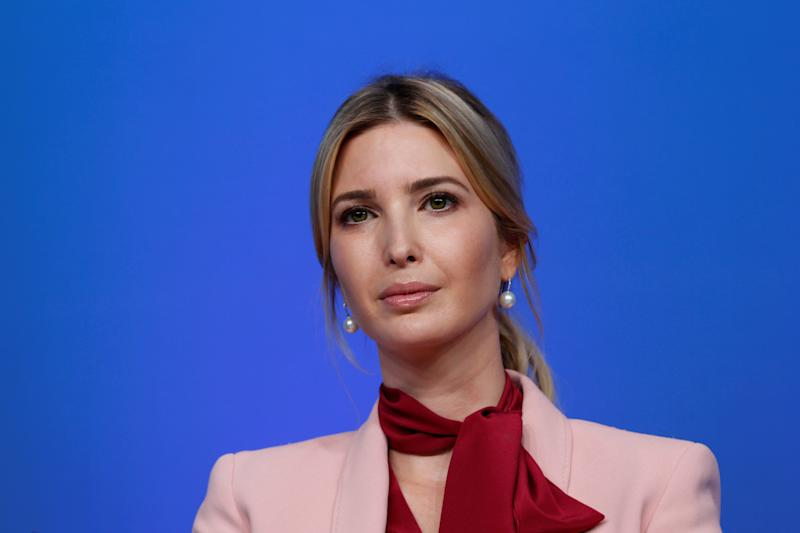 FILE PHOTO: Ivanka Trump attends women's entrepreneurship event during the IMF/World Bank annual meetings in Washington, U.S., October 14, 2017.    To match Special Report USA-TRUMP/PANAMA     REUTERS/Yuri Gripas/File Photo