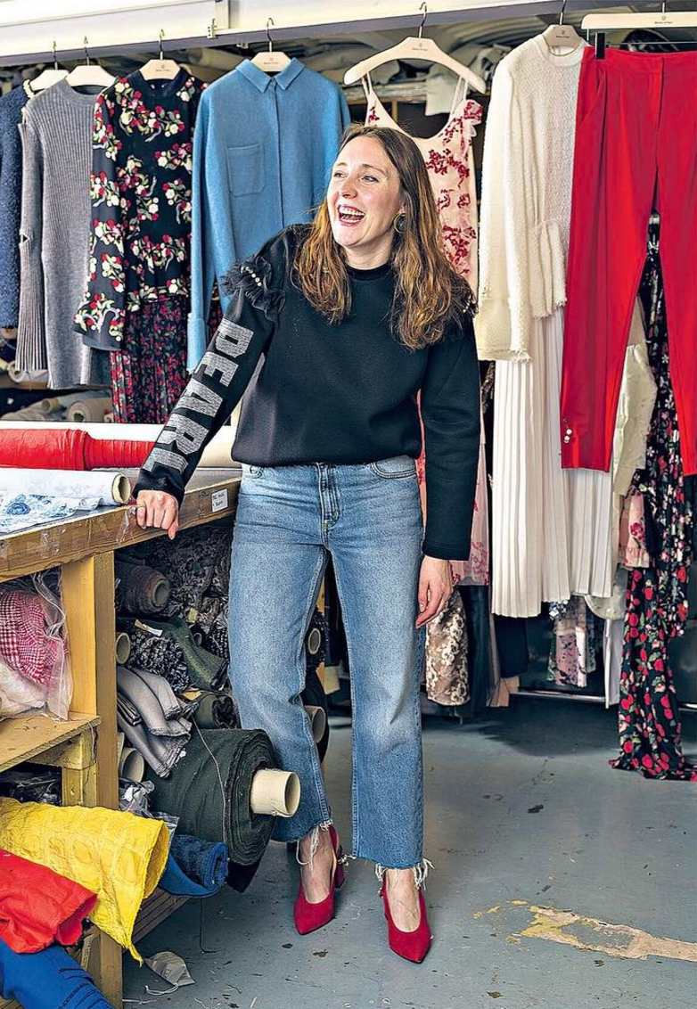 <p>Maia Norma started the womenswear label but Amy Powney took over as creative director in 2006.<br><i>[Photo: Instagram/motherofpearl]</i> </p>