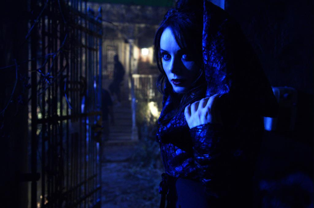 "<a href=""http://movies.yahoo.com/movie/contributor/1809028778"">Sarah Brightman</a> in Lionsgate Films' <a href=""http://movies.yahoo.com/movie/1809937239/info"">Repo! The Genetic Opera</a> - 2008"