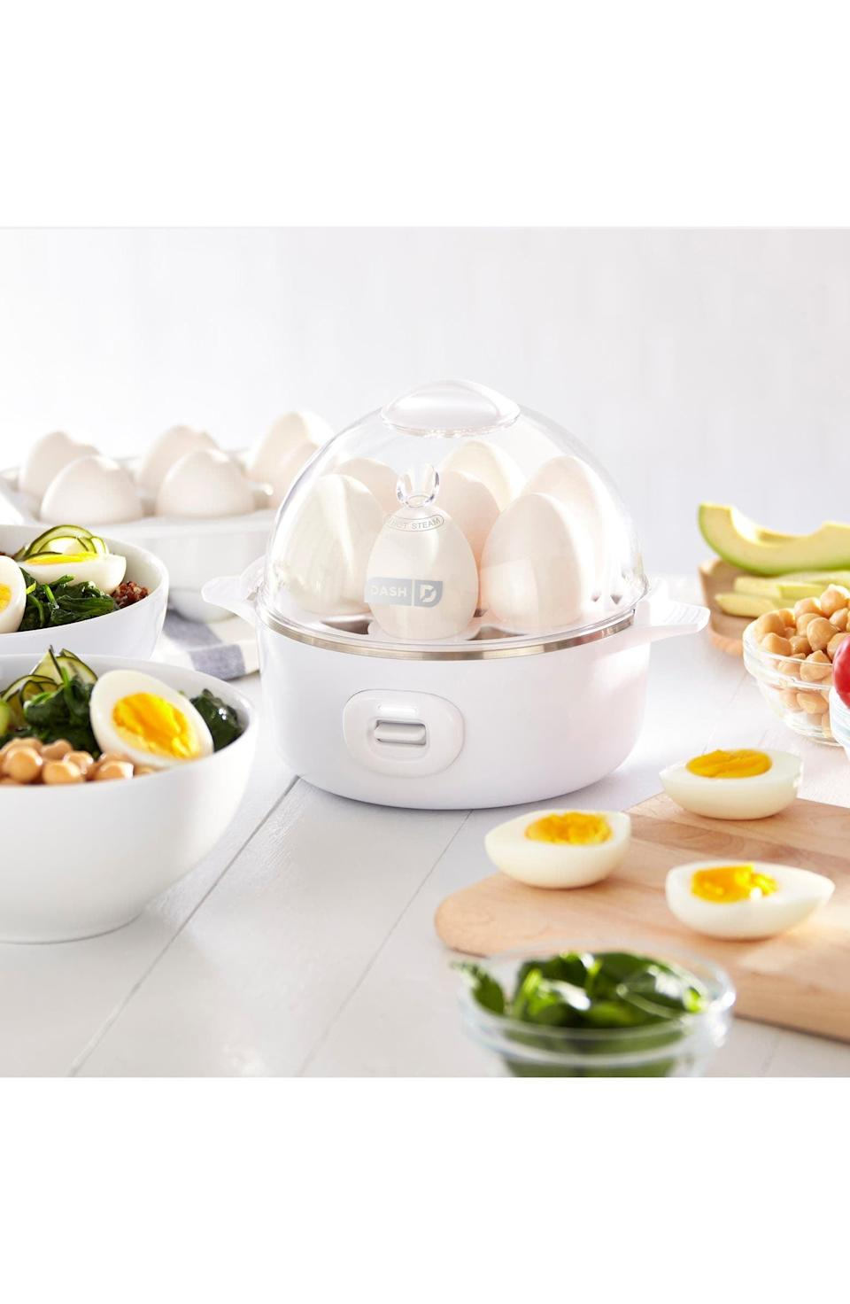 <p>This <span>Dash Express Egg Cooker</span> ($20) is an awesome, affordable gadget they'll use over and over again.</p>