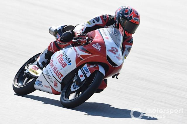 "Kaito Toba, Honda Team Asia <span class=""copyright"">Gold and Goose / LAT Images</span>"