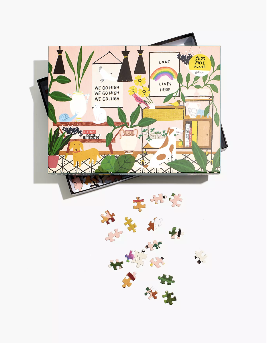 """$17, Madewell. <a href=""""https://www.madewell.com/anne-bentley-1000-piece-love-lives-here-jigsaw-puzzle-NA691.html"""" rel=""""nofollow noopener"""" target=""""_blank"""" data-ylk=""""slk:Get it now!"""" class=""""link rapid-noclick-resp"""">Get it now!</a>"""