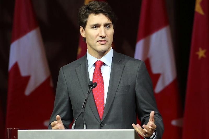 Canadian Prime Minister Justin Trudeau said it was important that Canadians benefit from the country's trade deals