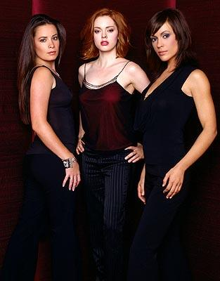 Holly Marie Combs, Rose McGowan and Alyssa Milano in Charmed