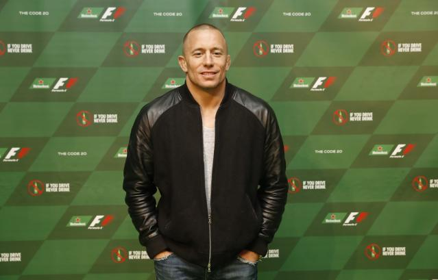 Georges St-Pierre is making his return to the Octagon for the first time since 2013. (Getty)
