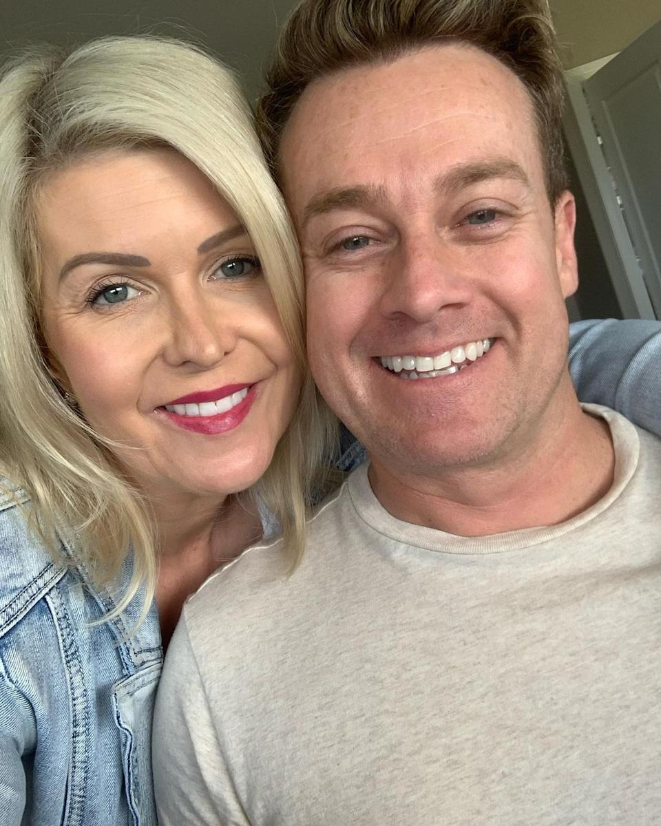 Grant Denyer shocked fans after revealing his marriage to now-wife Chezzi began while she was married to someone else. Photo: Instagram/Chezzi Denyer