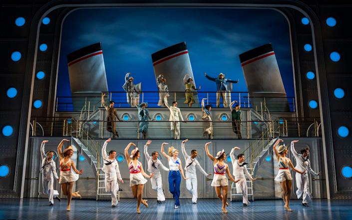 Sutton Foster and the ensemble of Anything Goes - Tristram Kenton